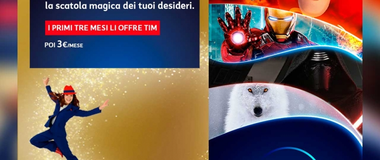 Disney+ e Timvision